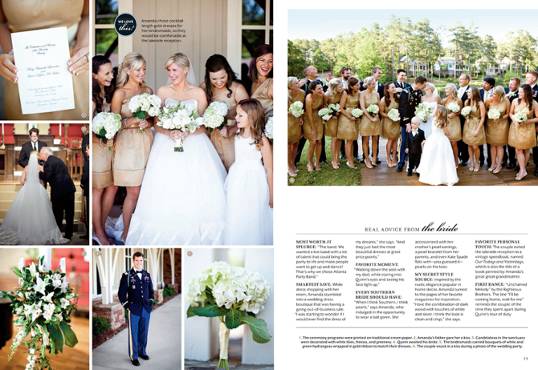 Southern Living Weddings 187 J Rawlings Photography